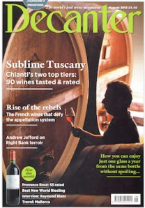 Decanter August 2014